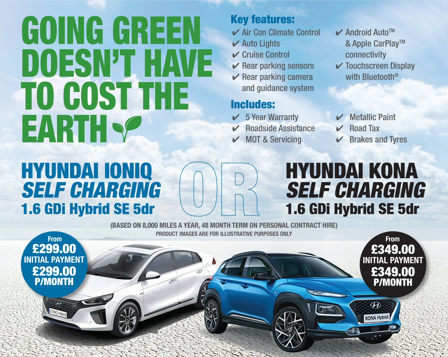 Hyundai Ioniq Hybrid Offers Available From Stacey S Motors In Bridgwater Somerset