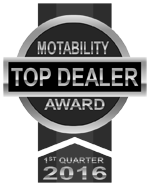 Motability top dealer award